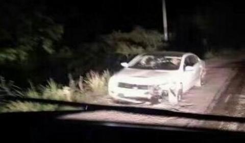 四川荣县发生车祸轿车撞倒电动车:致1死2伤肇事者驾车逃逸
